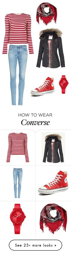 """Untitled #457"" by i-would-prefer-not-to on Polyvore featuring Sonia Rykiel, Burberry, AG Adriano Goldschmied, Converse, Fat Face and Tommy Hilfiger"