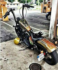 Harley sportster Ape hangers