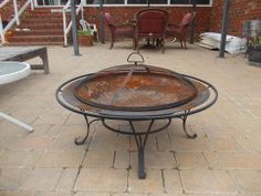 Add some excitement to a deck or backyard with one of these smokin' fire pits or hot torches.