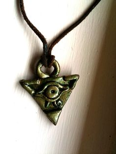 Yugioh Millenium Puzzle Choker Necklace by NerdyOddsGeekyEnds, $23.00
