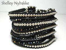 Slow Hand Bracelet pdf Instructions ONLY by SturdyGirlDesigns Hand Bracelet, Beaded Cuff Bracelet, Bracelet Knots, Cuff Bracelets, Shel Silverstein, Seed Bead Jewelry, Beaded Jewelry, Jewellery Diy, Seed Beads