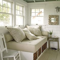 Creamy Whites with Coastal Accents