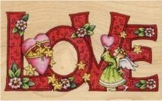 Mary Engelbreit Christmas Love Rubber Stamp - Click Image to Close Mary Engelbreit, Quotes Valentines Day, Vintage Valentines, Be My Valentine, Mundo Hippie, Christmas Love, All You Need Is Love, Clipart, Illustrators