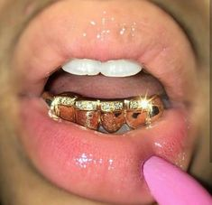 The GLD Shop is Your One Stop to Buy Gold Jewelry, Pendants, Cuban Chains and Streetwear Apparel. All Jewelry Products Come With a Lifetime Guarantee, and are Handcrafted with Authentic Gold. Cute Jewelry, Body Jewelry, Gems Jewelry, Charm Jewelry, Diamond Jewelry, Girls With Grills, Girl Grillz, Diamond Grillz, Diamond Teeth