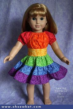 Oh Sew Kat! – Fashion Trends for Dolls & their Friends; PDF Sewing Patterns for inch Doll Clothes