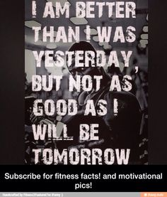 Be happy after the hard work, look forward to the next challenge. It's all part of the process to become that vision in your mind.  It's not going to be an smooth and easy journey, but will be well worth it when you're finally there....  Work it....Live it....OWN IT!!!!