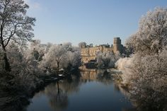 Warwick Castle and the River Avon | 48 Beautiful Pictures Of Snow Finally Arriving In Britain