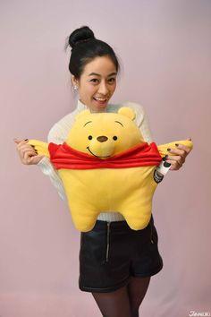 Squeeze it! It is so soft!! mocchi-mocchi from TAKARA TOMY A.R.T.S #japankuru #tokyo #takaratomy #souvenir  #softtoy #disney #shopping #kiddyland