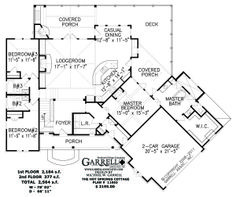 Hot Springs Cottage House Plan # 11063, 1st Floor Plan, Craftsman Style House Plans