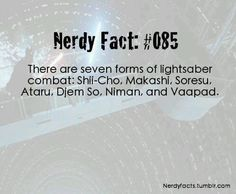 Juyo is the seventh form and Vaapad is almost a variant of it created by Mace Windu. Shien is also a variant of Djem So.