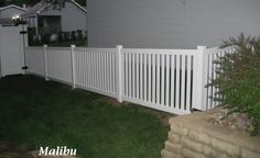 modern picket fence - Google Search