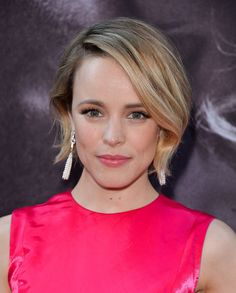 Rachel McAdams wearing our rose water toner, zero shine moisturizer & out-of-sight concealer