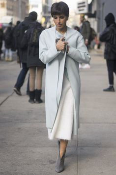 Pin for Later: The Street Style Hot Enough to Make You Forget the Cold NYFW Day Eight Deena Al-Juhani Abdulaziz