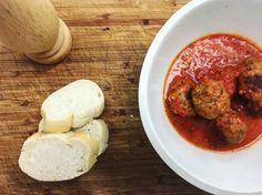 Videorecept: Talianska paradajková omáčka s mäsovými guľkami Meat, Chicken, Food, Essen, Meals, Yemek, Eten, Cubs