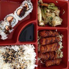 Comidinha japonesa em Sampa