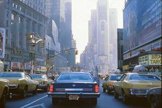 Viewoftheblue ArtPhotos - New York City - 1979 - Part I / Times Square area, around Christmas, 1978 Flatiron Building, Battery Park, New York Taxi, New York City, Empire State, Times Square, New York Architecture, Boston, Vintage Landscape