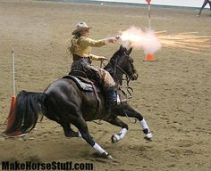 Tips and rules for setting up a Cowboy Mounted Shooting diorama with your model horses.