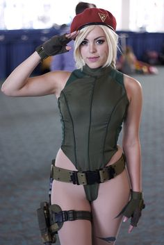 Character: Cammy White / From: Capcom's 'Street Fighter' Video Game Series / Cosplayer: Nadya Anton (aka Nadyasonika)