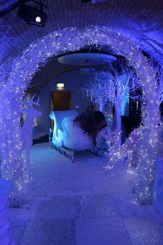 Large White Reindeer | Winter Wonderland Theme Party | Winter Wonderland Theme | Event Prop Hire