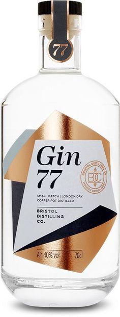 GIN in a BOTTLE Bristol Distilling Co. - Bristol Commercial Furniture for Any Property Owner Article Beverage Packaging, Bottle Packaging, Brand Packaging, Food Packaging, Wine Design, Bottle Design, Food Design, Bristol, Drink Labels