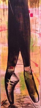 "Saatchi Art Artist Eka Peradze; Painting, ""SOLD.Eka Peradze. 30x80cm. #132"" #art"