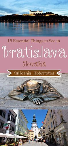 15 Essential Things to See in Bratislava, Slovakia - Things to do in Bratislava, What to Do in Bratislava - Tips for Visiting Bratislava - California Globetrotter-- Tanks that Get Around is an online Travel 2017, Europe Travel Tips, European Travel, Travel Goals, Travel Packing, Europe Day, Living In Europe, Drawing Simple, Day Trips From Vienna
