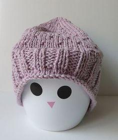 Tuto tricot: bonnet pour fillette