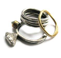 British jewellery designer Stef Warde | Peculiar Vintage