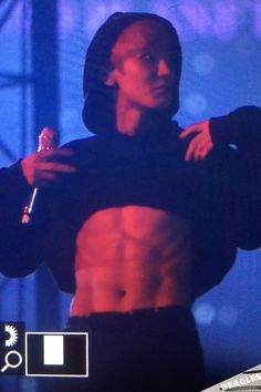 ABS de Monstro - Chanyeol no EXO'rDIUM