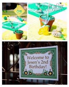 Jesen's John Deere 2nd Birthday