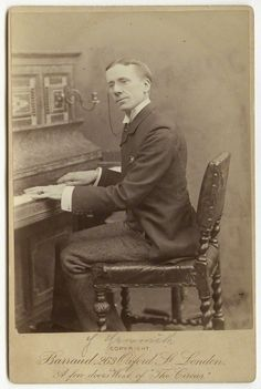 Barraud photo of George Grossmith