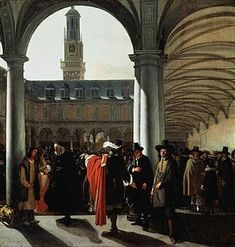The bank was wildly popular with merchants; deposits increasing from just less than one million guilders in 1611 to over sixteen million by 1700. Amsterdam 's exchange bank flourished because of its ability to handle deposits and transfers, and to settle international debts.  By the second half of the seventeenth century many wealthy merchant families had turned away from foreign trade and began engaging in speculative activities on a much larger scale.