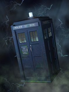 DAZ Studio 4 Render using Reality 2.2 and LuxRender RC1.0. Post work in Photoshop 7. Total Render time 30 Minutes. Just a quick Tardis picture. Just bored, and people have asked me to do one.