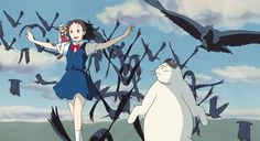 The Cat Returns was only the third Studio Ghibli feature not directed by Hayao Miyazaki or Isao Takahata. Art Studio Ghibli, Studio Ghibli Films, Studio Ghibli Characters, The Cat Returns, Neko, Hayao Miyazaki, Film Manga, Gato Anime, Cat Movie