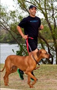 Hands Free Running With Your Dog with the SPIleash  - I need to get one of these!!