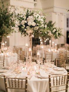 All Best Dressed Awards go to this wedding - Hochzeit - Blumenkranz Romantic Wedding Decor, Romantic Candles, Floral Wedding, Wedding Bouquets, Rustic Wedding, Trendy Wedding, White Candles, Romantic Ideas, Fall Wedding