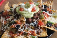 Slow Cooker Nachos --I'm going to make this with ground turkey.