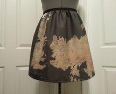 The Known World of GoT full skirt  made to par NerdAlertCreations, $45.00