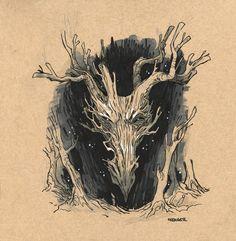 Un artiste dessine des dragons pour détruire les stéréotypes à leur sujet