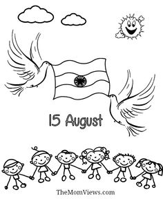 Indian Independence Day Drawing 1000 Ideas About