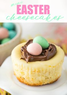 Create an Easter dessert that will impress your guests with this Mini Easter Cheesecake recipe.
