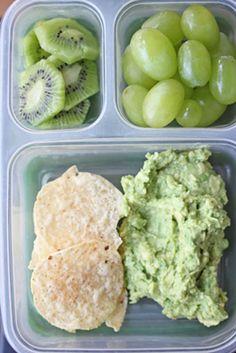 St. Patrick's Day - Lunch Box Ideas, Green Foods   5DollarDinners.com