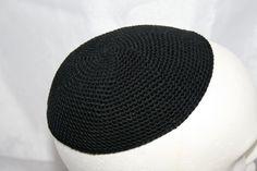 black kippah
