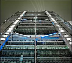 norman foster @ HSBC Bank by d.teil, via Flickr