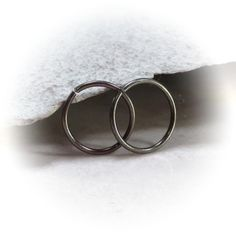 Bronze Niobium endless piercing hoops for ears nose lip eyebrow whatever piercing you want! Bronze Niobium (hypoallergenic) (does not contain nickel or lead) Standard ea Little Hoop Earrings, Cuff Bracelets, Piercings, Silver Rings, Bronze, Jewelry, Peircings, Piercing, Jewlery