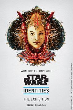 Star Wars Identities exhibition poster
