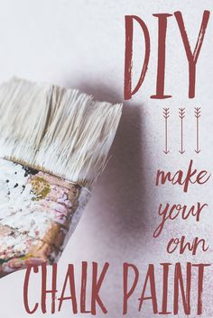 DIY:  Make your own chalk paint!