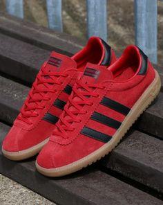 timeless design 2c770 844b7 Adidas Bermuda Trainers Red,black,shoes,originals,suede,archive Adidas Og