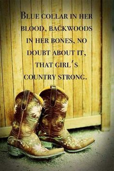 Blue Collar for sure. Always have been, always will be. Country 'til the day I die!