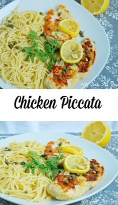 Chicken Piccata. Cla